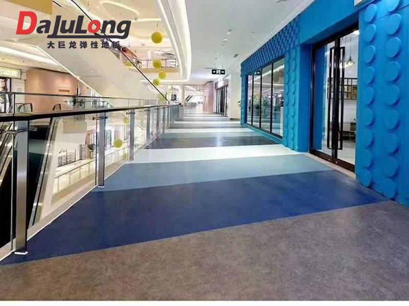 大巨龙PVC地板铺装效果图