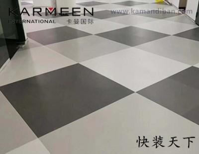 大巨龙纯色片材地板-纯色LVT石塑片