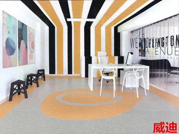 卡曼国际-威迪密实底商用卷材塑胶地板