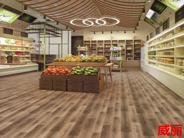 卡曼国际-密实底威丽商用卷材塑胶地板