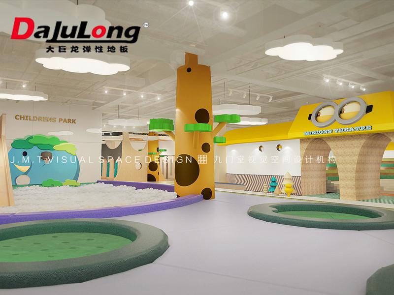 幼儿园pvc地板
