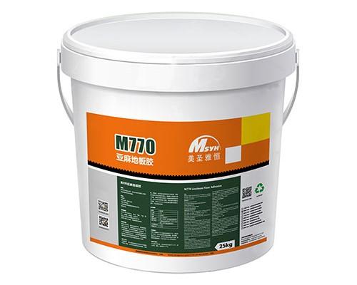 M770地板胶-美圣亚恒M770亚麻地板专用胶水【胶粘剂】