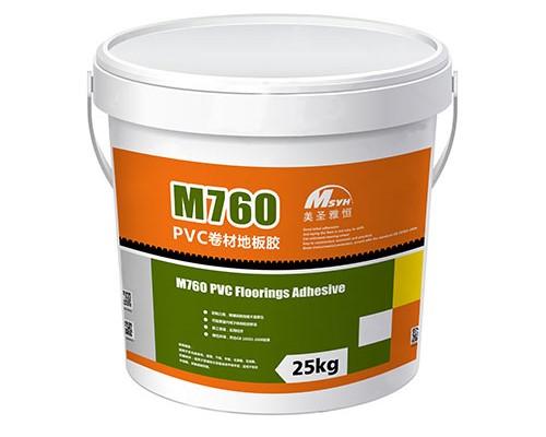 M760pvc卷材地板胶水-美圣亚恒pvc卷材
