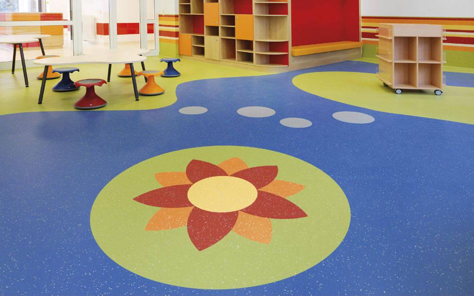 大巨龙pvc地板厂家做中国品牌的pvc地板