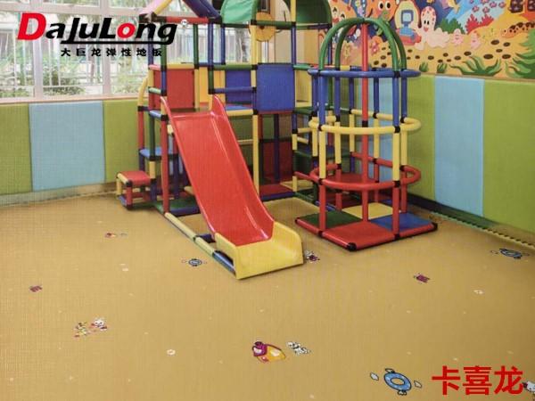 大巨龙幼儿园儿童卡通卷材pvc地板-卡喜龙系列