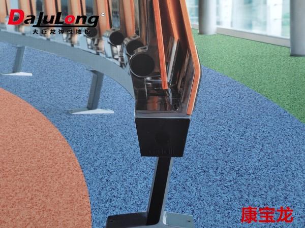大巨龙地板康宝龙系列-商用卷材pvc塑胶地板