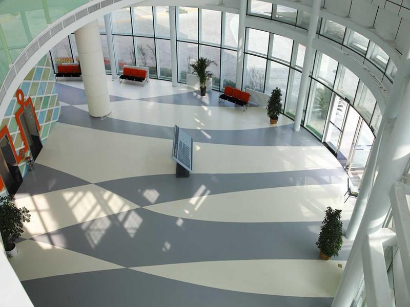 为什么越来越多的医院选用大巨龙pvc地板
